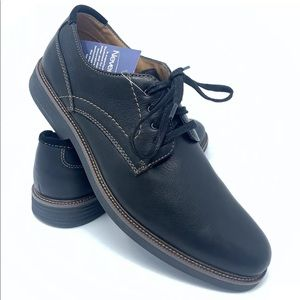 Dockers Mens Parkway Black Leather Oxford Shoes